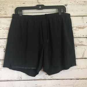 Lululemon Black Men's Running Shorts